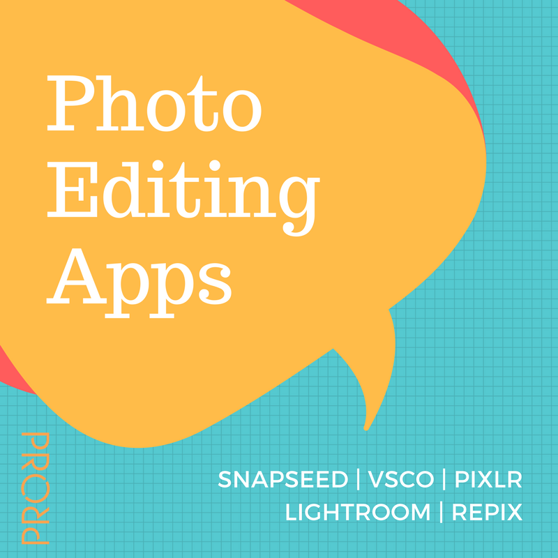 Photo Editing Apps